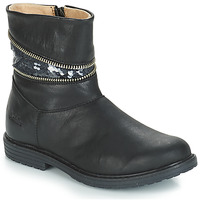 Schoenen Meisjes Hoge laarzen GBB MAFALDA Zwart