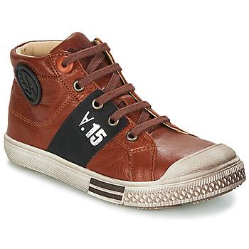 Schoenen Jongens Laarzen GBB RUFINO Brown