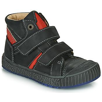 Schoenen Jongens Hoge sneakers Catimini RAIFORT Zwart / Rood