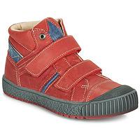 Schoenen Jongens Hoge sneakers Catimini RAIFORT Rood