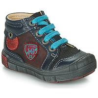 Schoenen Jongens Hoge sneakers Catimini ROCOU Marine / Bordeaux