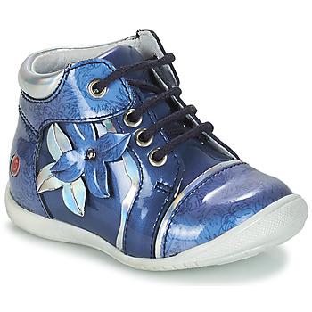 Schoenen Meisjes Laarzen GBB SONIA Blauw