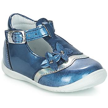 Schoenen Meisjes Sandalen / Open schoenen GBB SELVINA Vvn / Bleu-imprime / Dpf / Kezia