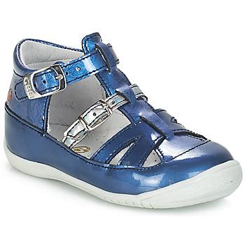 Schoenen Meisjes Sandalen / Open schoenen GBB SARAH Vvn / Bleu-imprime / Dpf / Kezia