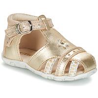 Schoenen Meisjes Sandalen / Open schoenen GBB SUZANNE Goud