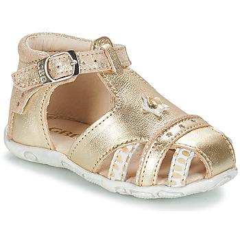 Schoenen Meisjes Sandalen / Open schoenen GBB SUZANNE  ctv / Goud / Dpf / Zabou
