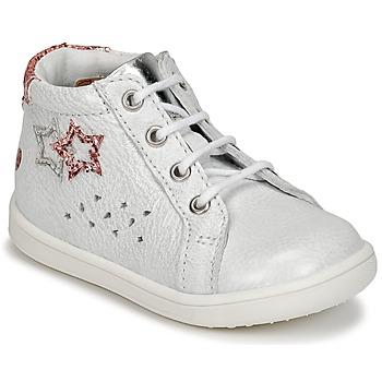 Schoenen Meisjes Hoge sneakers GBB SABBAH Wit
