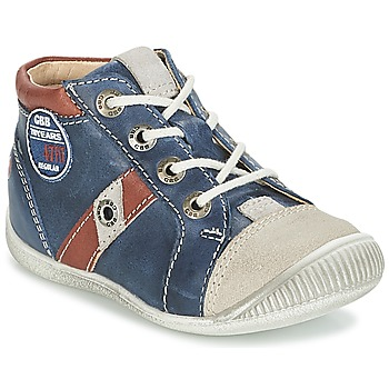 Schoenen Jongens Lage sneakers GBB SILVIO Marine / Brown