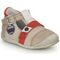 Schoenen Jongens Sandalen / Open schoenen GBB STANISLAS Vtc / Beige-rood / Dpf / Raiza