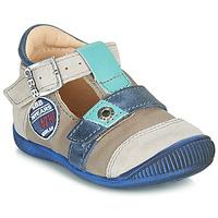 Schoenen Jongens Sandalen / Open schoenen GBB STANISLAS Vtc / Taupe-bleu / Dpf / Raiza