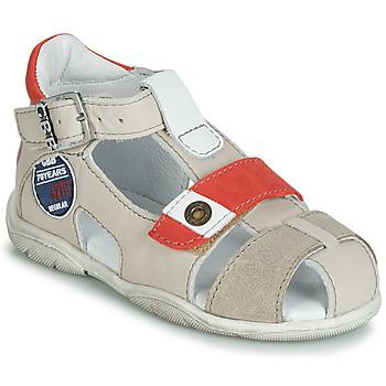 Schoenen Jongens Sandalen / Open schoenen GBB SULLIVAN Vtc / Beige-rood / Dpf / Filou