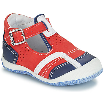 Schoenen Jongens Sandalen / Open schoenen GBB SIGMUND Rood / Blauw