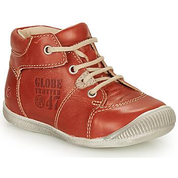 Schoenen Jongens Laarzen GBB SIMEON Brown