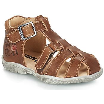 Schoenen Jongens Sandalen / Open schoenen GBB PRIGENT Vte / Fauve / Dpf / Filou