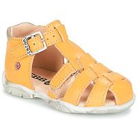 Schoenen Jongens Sandalen / Open schoenen GBB PRIGENT Vte / Geel / Dpf / Filou