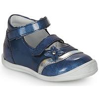 Schoenen Meisjes Sandalen / Open schoenen GBB STACY Vvn / Bleu-imprime / Dpf / Zafra