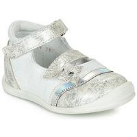 Schoenen Meisjes Sandalen / Open schoenen GBB STACY Vtv / Nacre-imprime / Dpf / Zafra