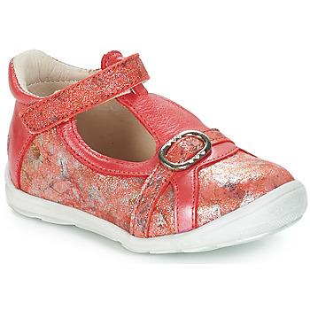 Schoenen Meisjes Sandalen / Open schoenen GBB SALOME Vte / Corail-imprime / Dpf / Festa