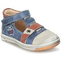 Schoenen Jongens Sandalen / Open schoenen GBB SOREL Marine / Brown