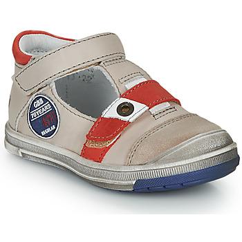 Schoenen Jongens Sandalen / Open schoenen GBB SOREL Vtc / Beige-rood / Dpf / Flash