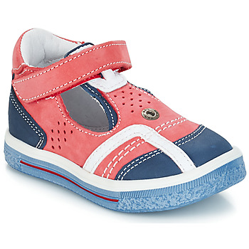 Schoenen Jongens Sandalen / Open schoenen GBB SALVADORE Nuv / Rouge-marine / Dpf / Times