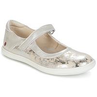 Schoenen Meisjes Ballerina's GBB PLACIDA Vte / Beige-argent / Dpf / Cuba