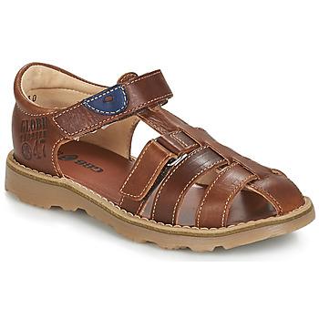 Schoenen Jongens Sandalen / Open schoenen GBB PATERNE Brown