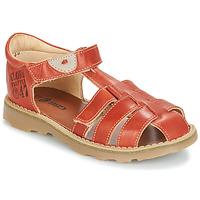 Schoenen Jongens Sandalen / Open schoenen GBB PATERNE Vte / Rouille / Dpf / Trony