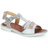 Schoenen Meisjes Sandalen / Open schoenen GBB MARIA Vte / Zilver / Dpf / Cola
