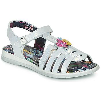 Schoenen Meisjes Sandalen / Open schoenen Catimini SICALE Vte / Nacre / Dpf / Jemma