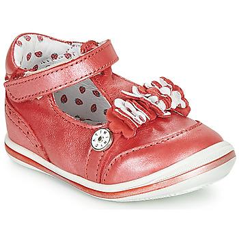 Schoenen Meisjes Sandalen / Open schoenen Catimini SANTOLINE Vte / Rood / Nacre / Dpf / 2851