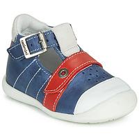 Schoenen Jongens Sandalen / Open schoenen Catimini SESAME Blauw / Rood