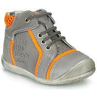 Schoenen Jongens Laarzen Catimini SEREVAL Grijs / Orange