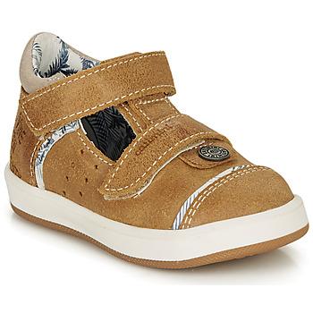 Schoenen Jongens Sandalen / Open schoenen Catimini SAUTERIAU Crt / Fauve / Dpf / 2921