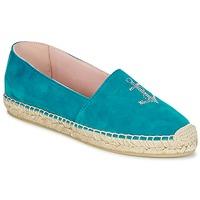 Schoenen Dames Espadrilles Pretty Ballerinas ANGELIS Turquoise