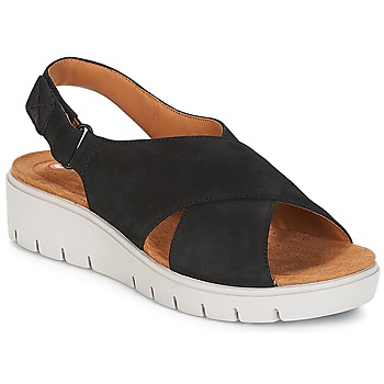 Schoenen Dames Sandalen / Open schoenen Clarks UN KARELY HAIL Zwart