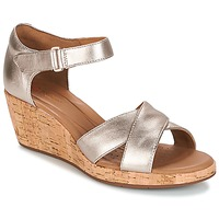 Schoenen Dames Sandalen / Open schoenen Clarks UN PLAZA CROSS Goud
