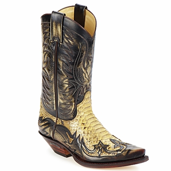 Schoenen Heren Hoge laarzen Sendra boots JOHNNY Brown / Beige