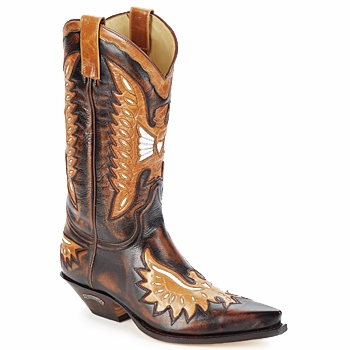 Schoenen Heren Hoge laarzen Sendra boots CHELY Brown