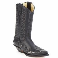 Schoenen Hoge laarzen Sendra boots CLIFF Zwart