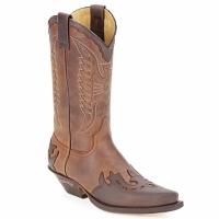 Schoenen Hoge laarzen Sendra boots DAVIS Brown