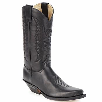 Schoenen Hoge laarzen Sendra boots FLOYD Zwart