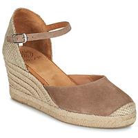 Schoenen Dames Sandalen / Open schoenen Unisa CARCERES Taupe