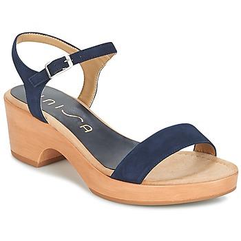 Schoenen Dames Sandalen / Open schoenen Unisa IRITA Marine