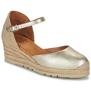 Schoenen Dames Sandalen / Open schoenen Unisa CISCA Goud