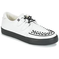 Schoenen Lage sneakers TUK CREEPERS SNEAKERS Wit / Zwart