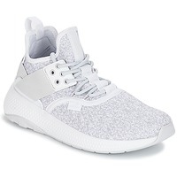 Schoenen Dames Lage sneakers Palladium AX_EON LACE K Wit / Grijs