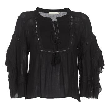 Textiel Dames Tops / Blousjes See U Soon 8112057 Zwart