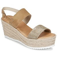 Schoenen Dames Sandalen / Open schoenen Casual Attitude INUIL Goud / Brown