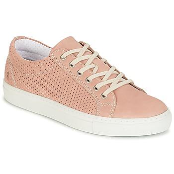Schoenen Dames Lage sneakers Casual Attitude IPINIA Roze